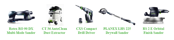 festool objects