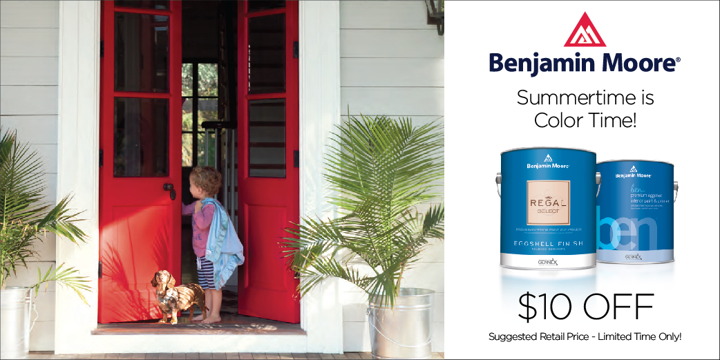 Benjamin Moore - Summer Time is Color Time