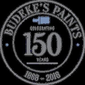 Budeke's Paint Retina Logo